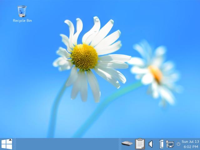 Маскировка Tails 1.1 под Windows 8