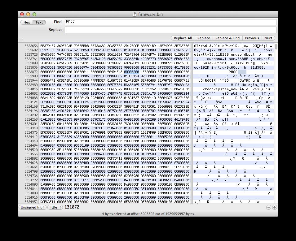 Рис. 3. Размер блока данных LZO-архива