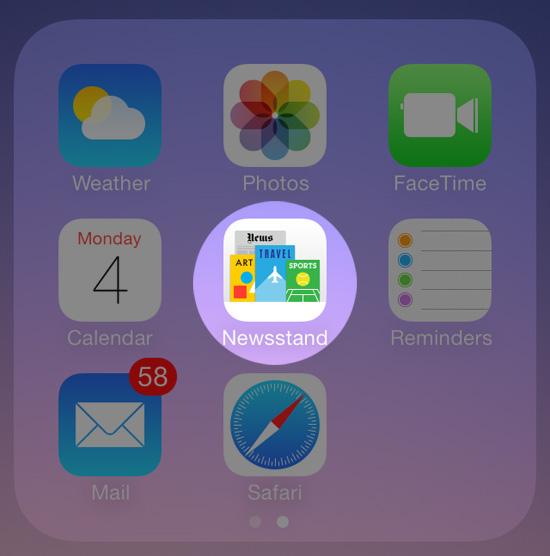Якобы плоские минималистичные иконки iOS 7 иногда выглядят совсем не так