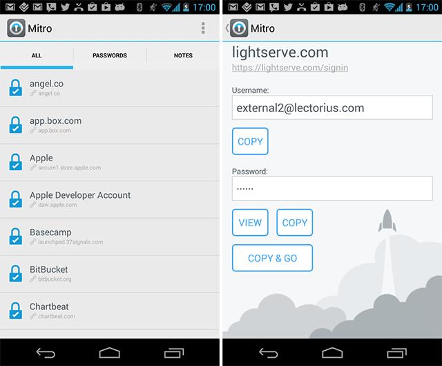 Mitro для Android