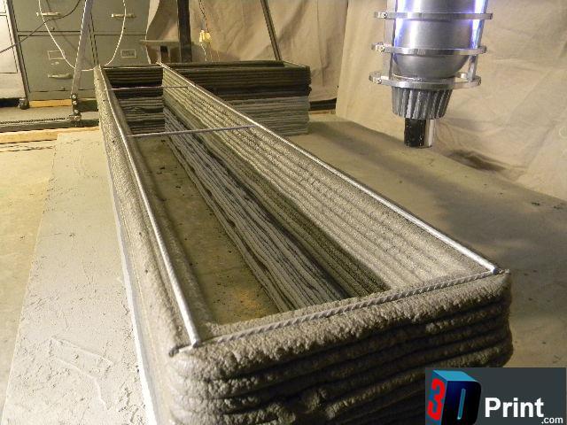 Цементный 3D-принтер от Андрея Руденко из Миннесоты