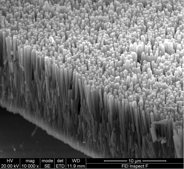 Наностержни из оксида цинка