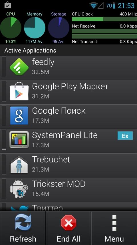 Современный Android-софт очень прожорлив