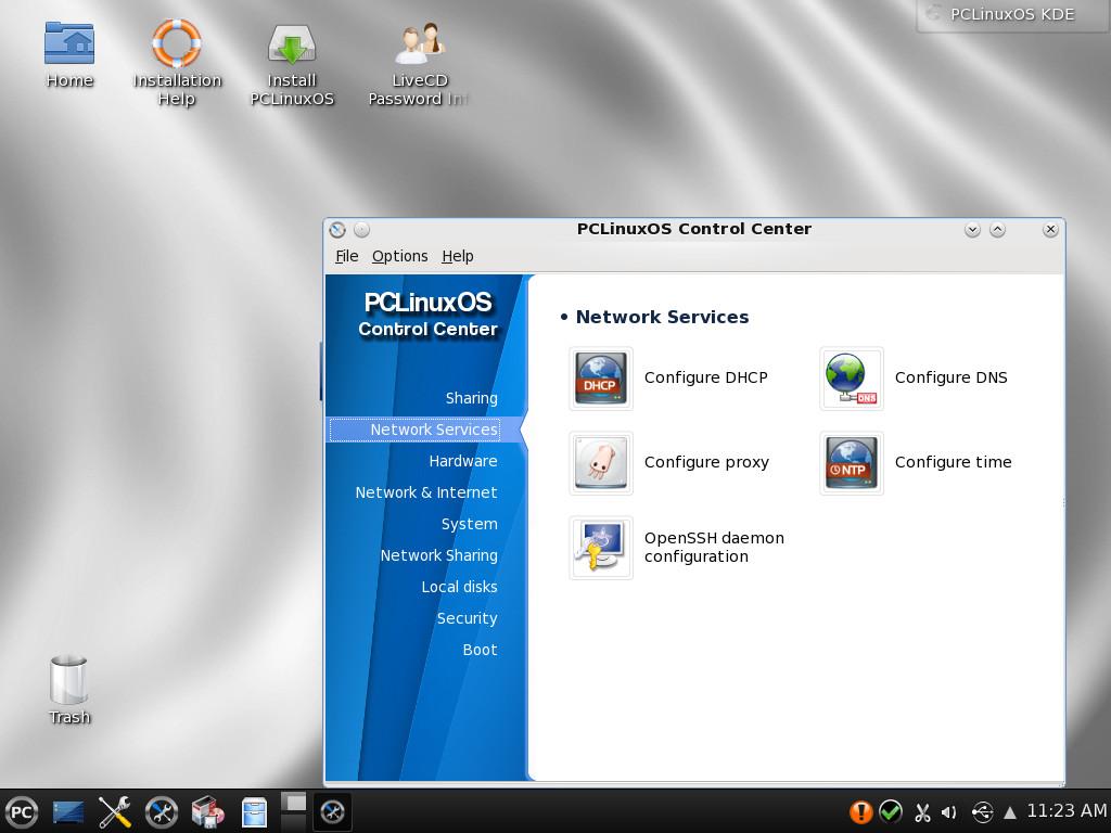 PCLinuxOS, появившийся как форк Mandrake, реализован в виде rolling release