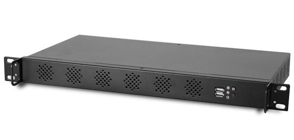 Материнская плата Intel D2500CCE Mini-ITX в стоечном корпусе