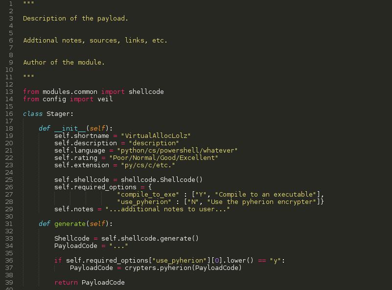Рис. 3. Готовый шаблон для создания своего пейлоада template.py