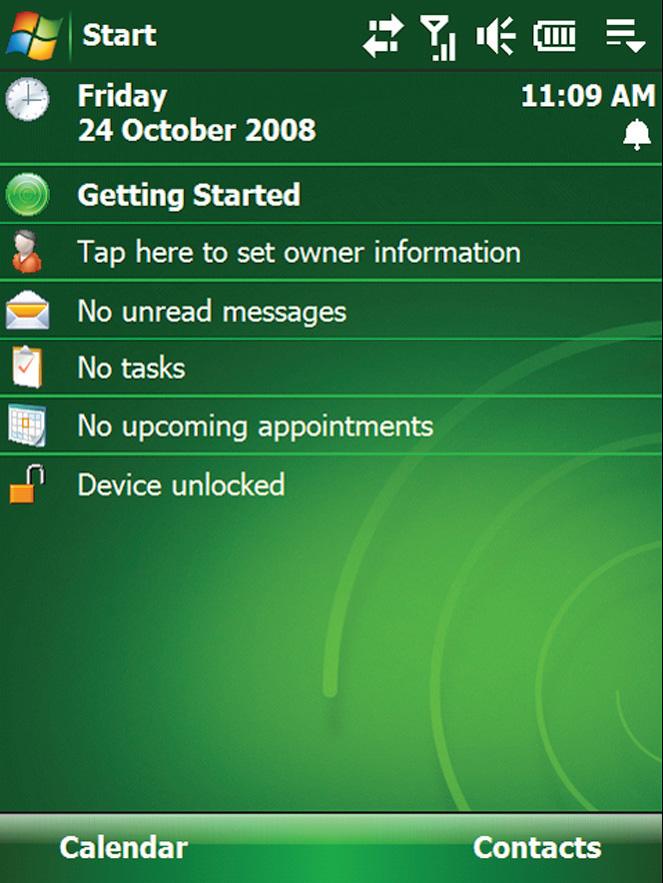 Windows Mobile - на смартфонах тоже был Пуск .