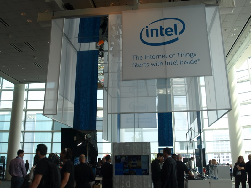 Стенд Internet of Things на IDF 2014