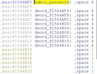 Адрес, по которому находится пароль администратора устройства WRT120N