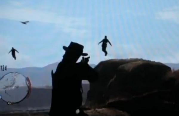 «Какой же Дикий Запад без летающих людей?» — думали, наверное, разработчики Red Dead Redemption