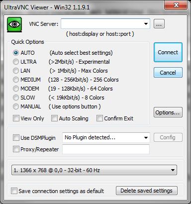 Рис. 22. UltraVNC Viewer