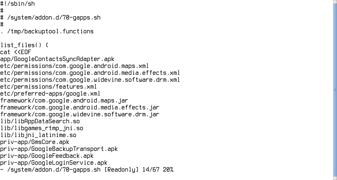 Скрипт бэкапа приложений Google