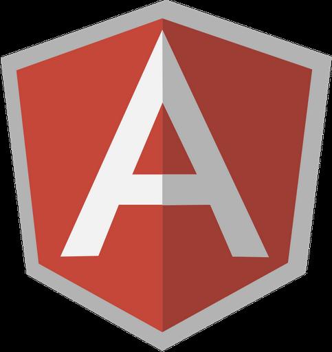 Логотип AngularJS