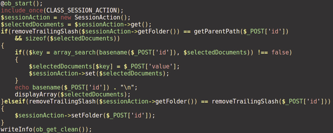 Фрагмент файла ajax_save_name.php