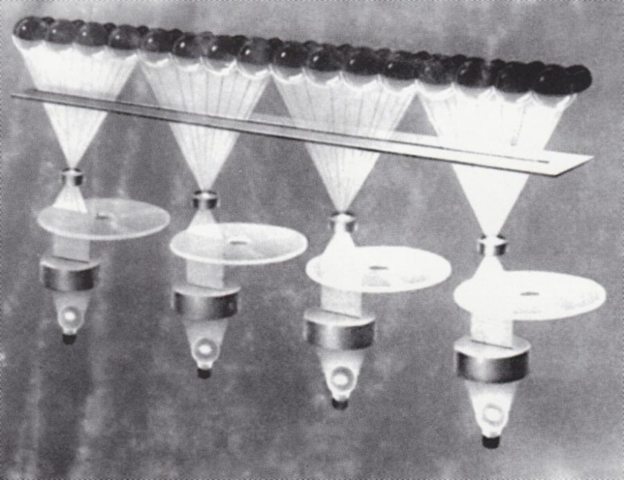 Оптико-механический генератор чистых тонов синтезатора АНС