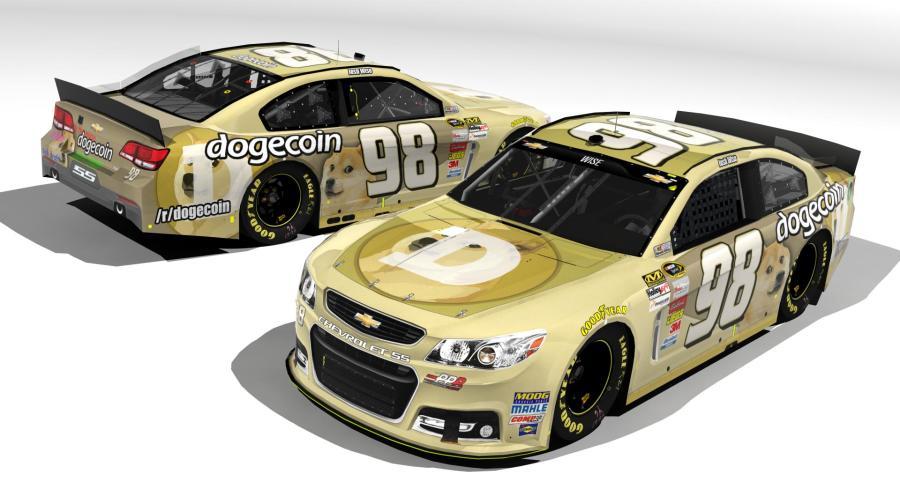 Финальный дизайн машины NASCAR