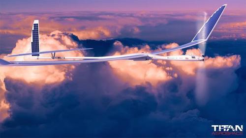 Беспилотник на солнечных батареях производства Titan Aerospace (принадлежит Google)