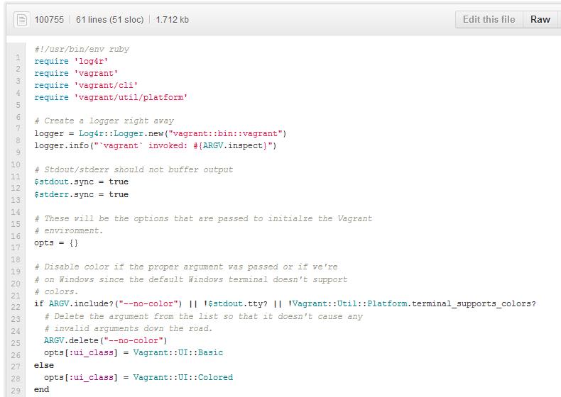 Код проекта написан на Ruby