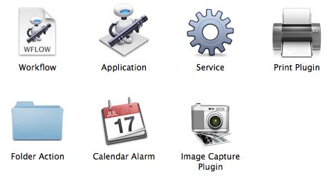 Automator_workflow_types