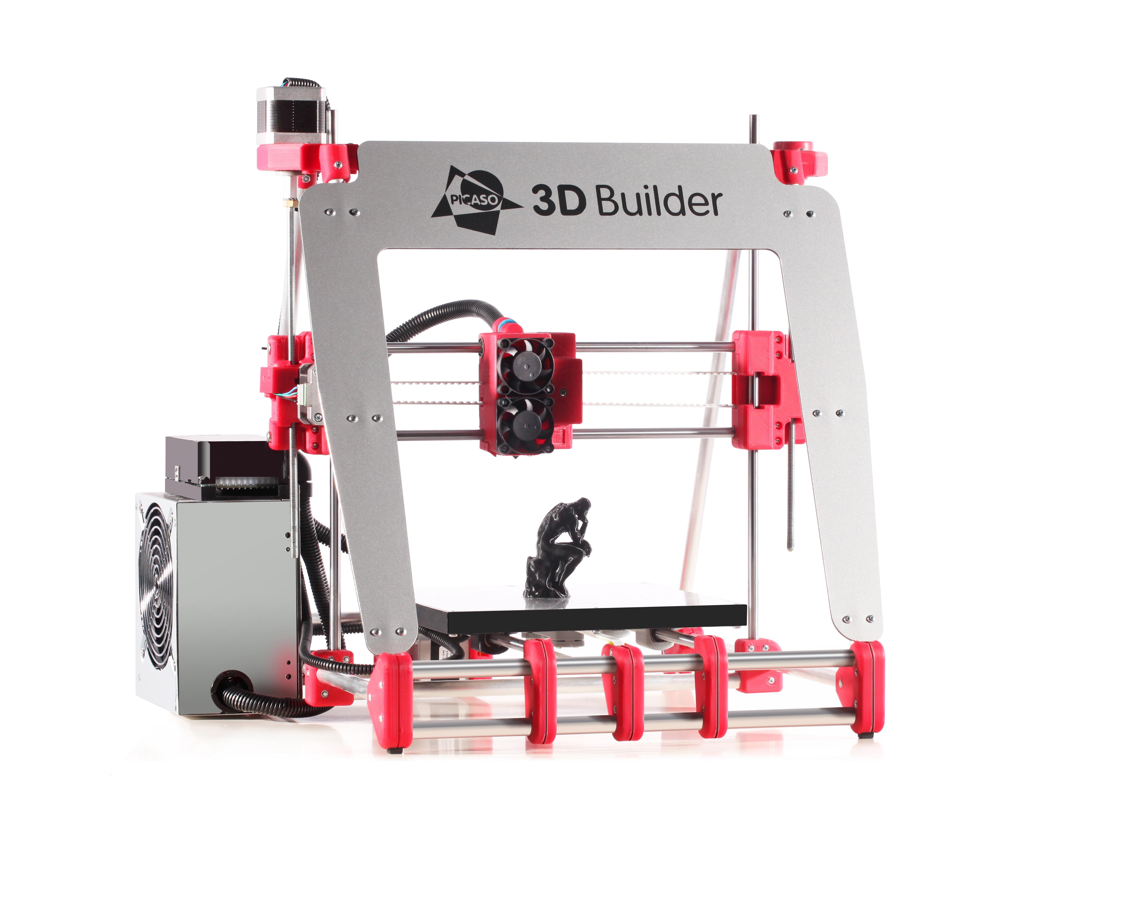Picaso 3D Builder: принтер, неслучайно попавший на обложку журнала, который ты держишь в руках, — его делают в России, в Зеленограде. Стоимость — 80 тысяч рублей. На нем мы будем печатать логотип журнала в следующей статье.