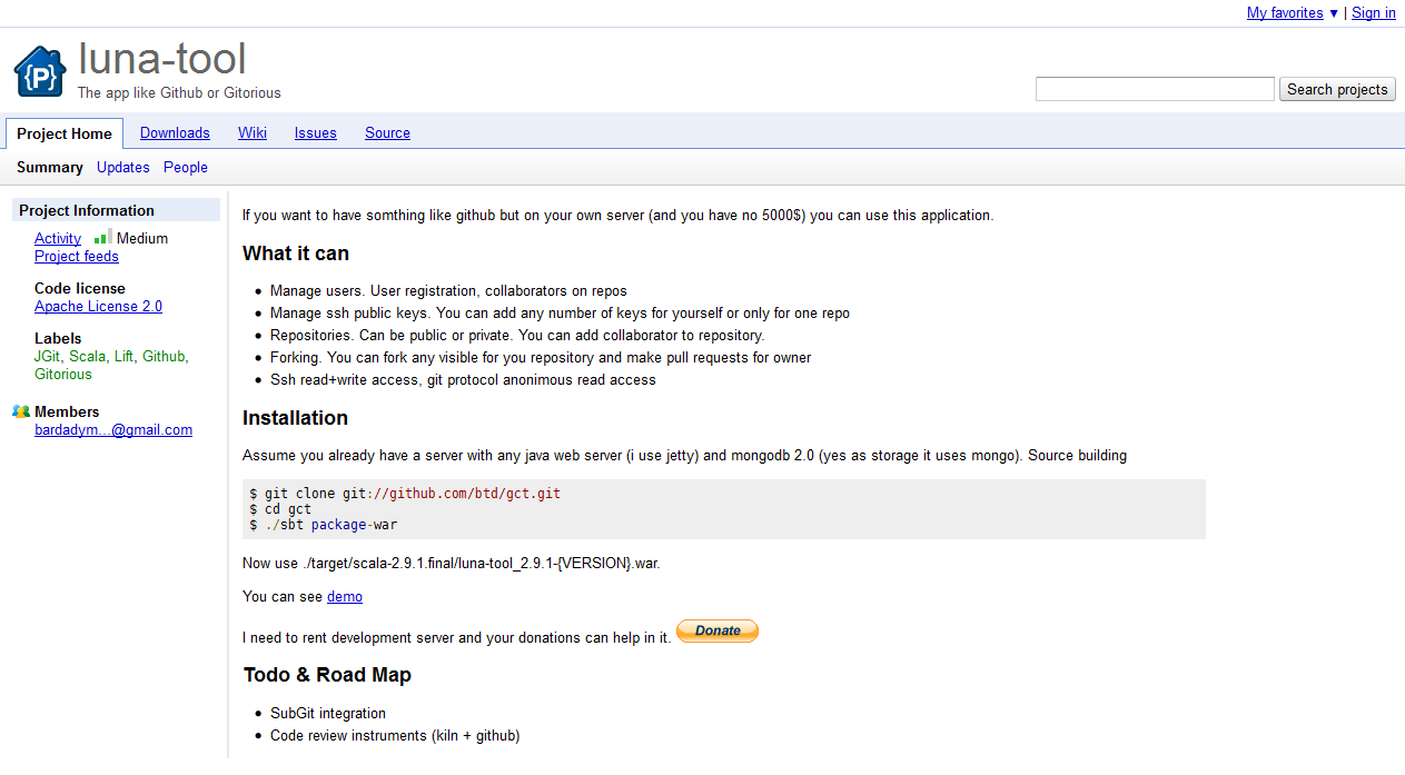 google-code-screenshot