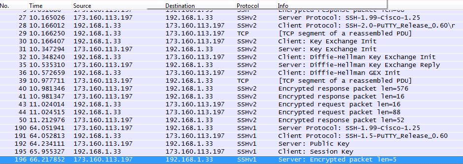 Подключение к SSH-1.99 и по SSHv1, и по v2