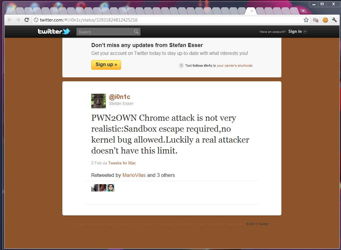 Ресерчеры недовольны правилами Pwn2Own