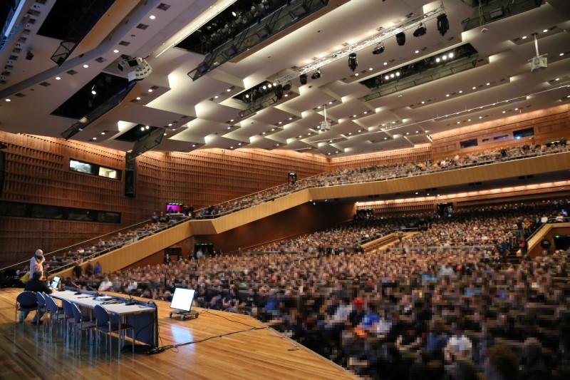 Фото с прошлогодней конференции 30C3
