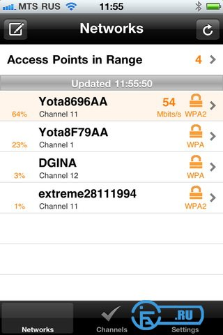 IOS_WiFI-Analyzer