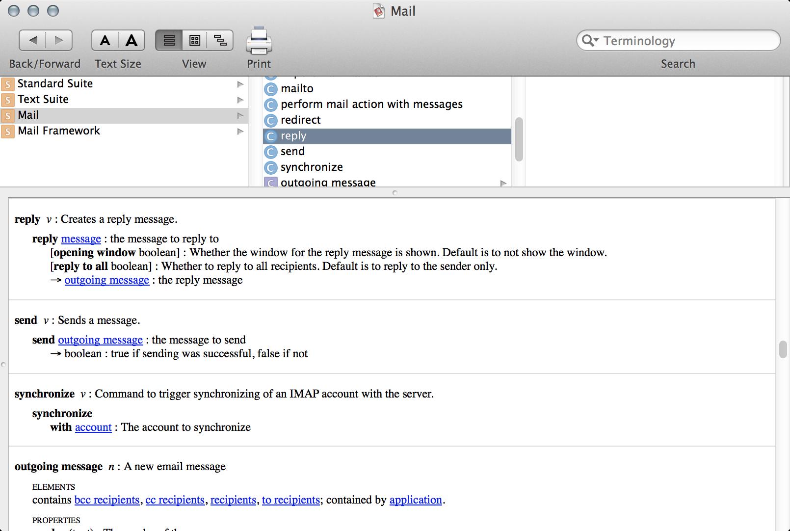 При помощи OSA можно получить полный контроль над маковскими приложениями. Например, попросить почтовик создать и отправить письмо