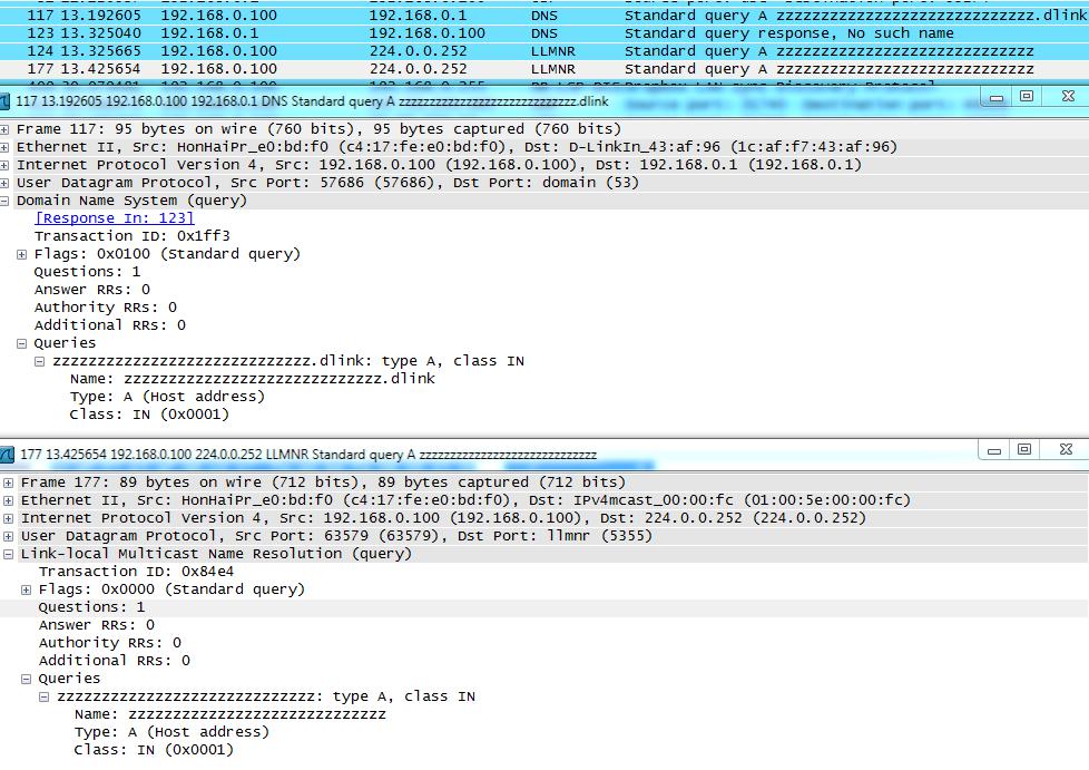 LLMNR и DNS — найди отличия