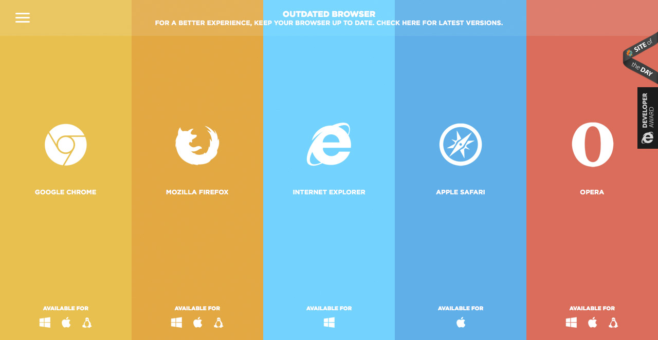 outdated-browser