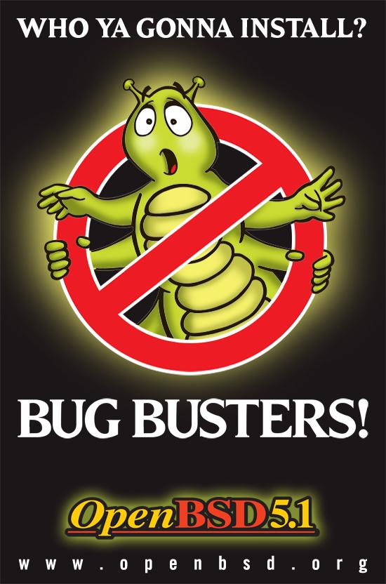 Постер, посвященный выходу OpenBSD 5.1