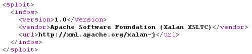 Пример трансформации в XSLT-формат