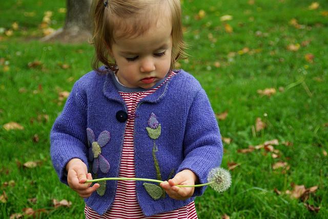 Возможно, ребёнок учится держать в руках автомат. Фото LeAnn