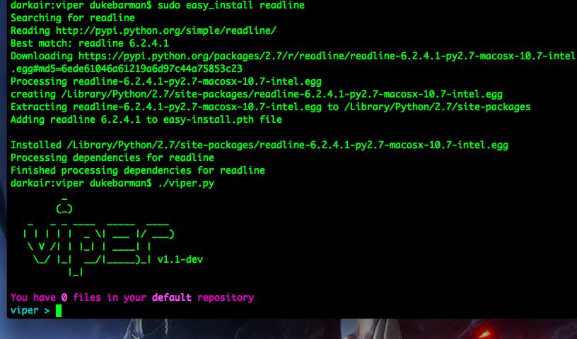 Пример окна в OS X после решения проблемы