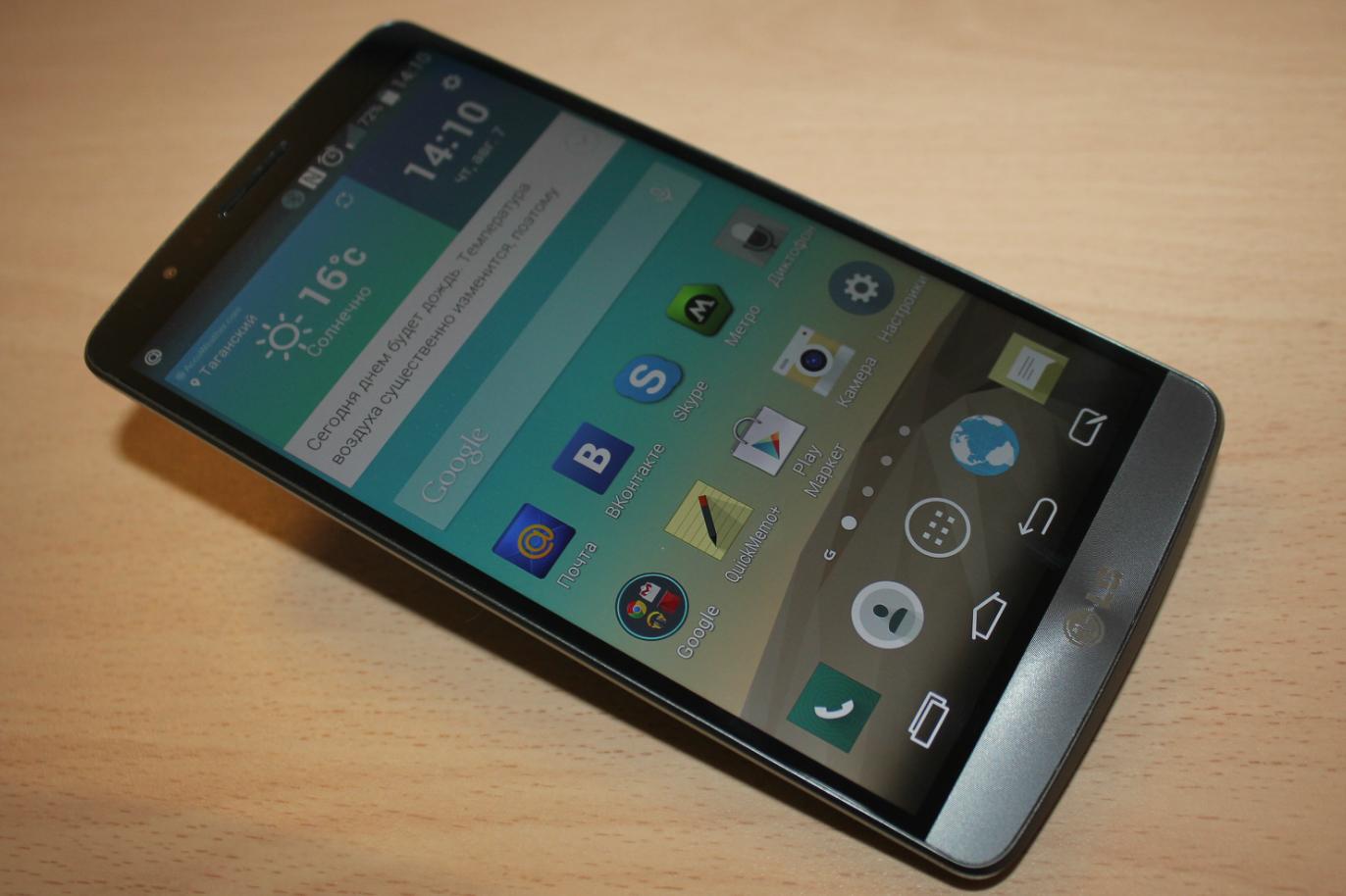 Сверхчеткий 5,5-дюймовый 2K-экран занимает 76% лицевой поверхности