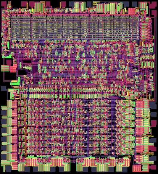 Виртуальный процессор красиво помигивает во время симуляции