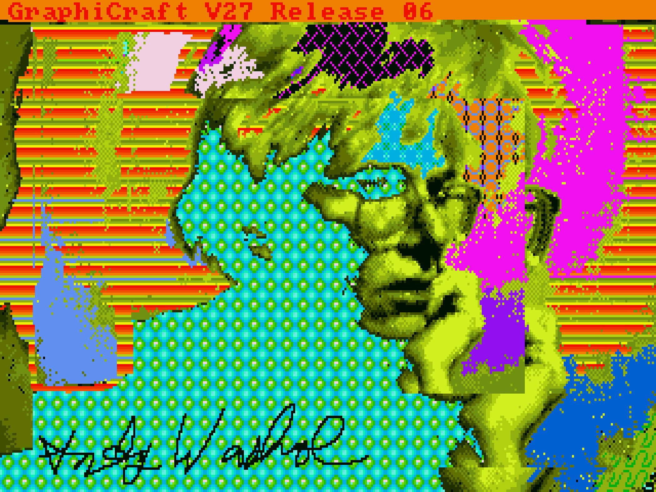Картины Уорхола, спасенные со старых дискет