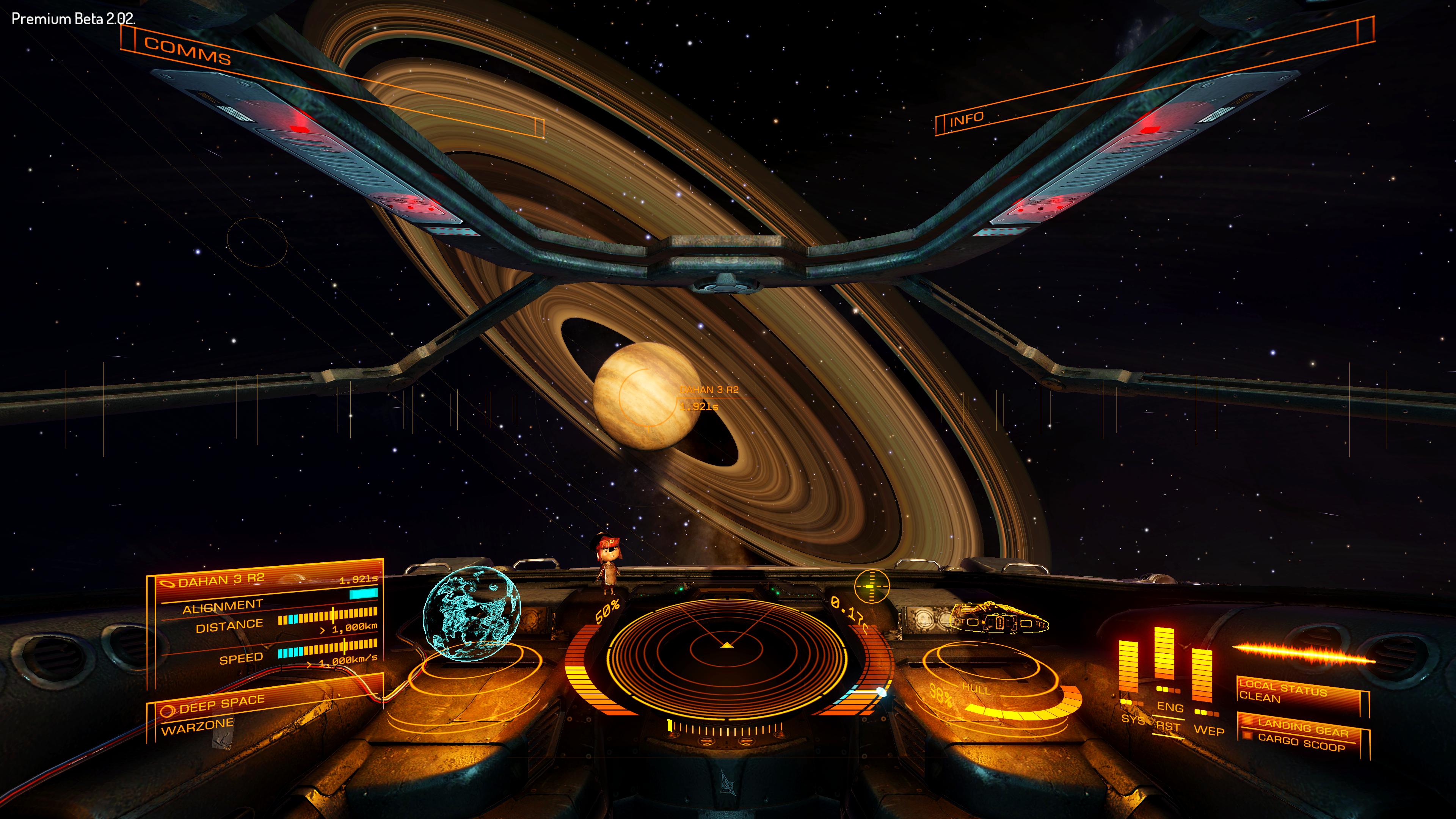 Для Oculus полно технологических демо, но на подходе и серьезные игры. На скриншоте — Elite Dangerous, прямой наследник легендарной Elite