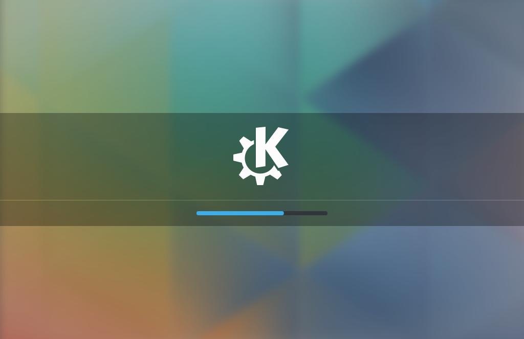 Загрузка KDE 5
