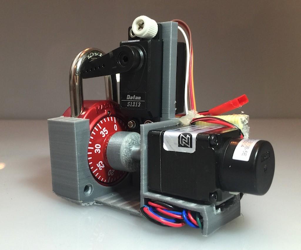схема проекта кодовый замок arduino