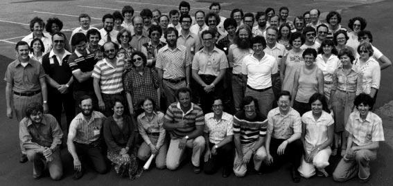 Команда разработчиков первой версии VMS