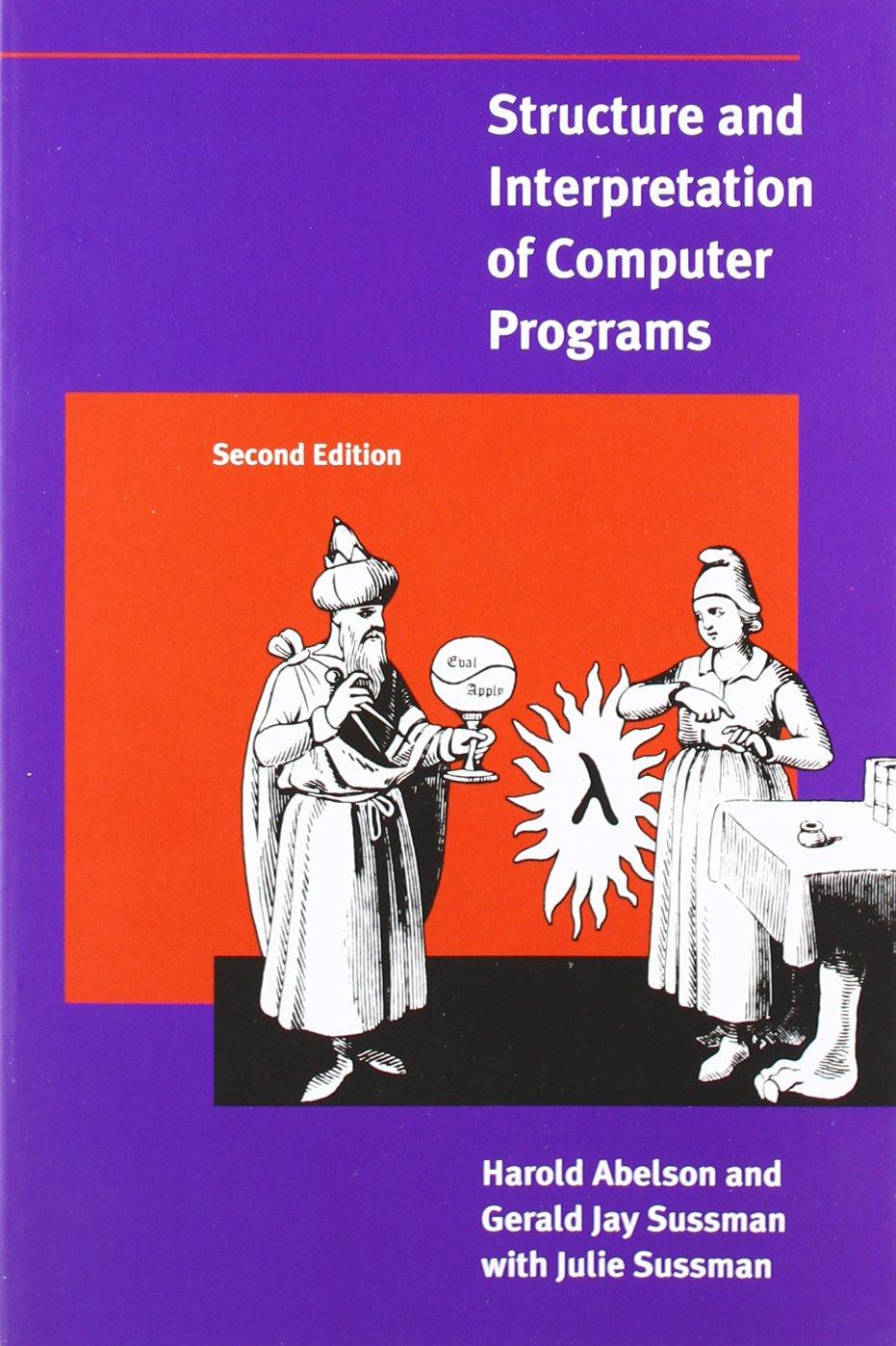 Обложка знаменитой книги «Структура и интерпретация компьютерных программ»