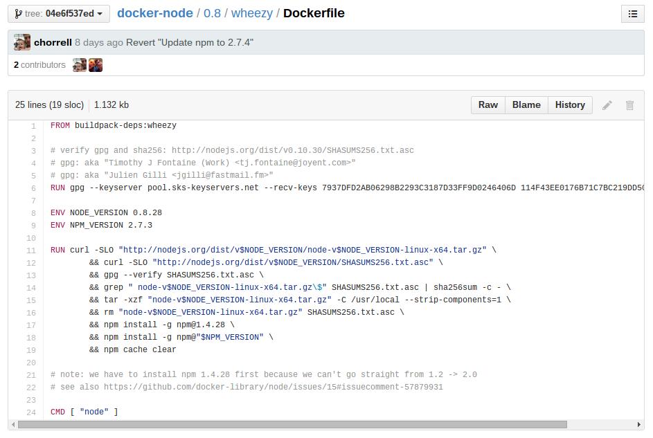 Правильно написанный Dockerfile