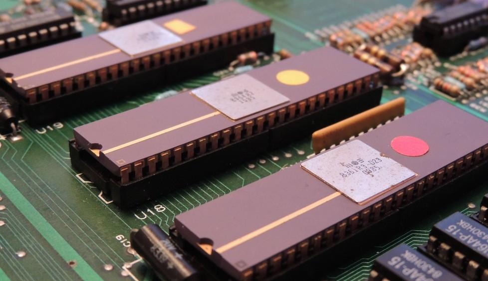 Чипы Agnus, Denise и Paula в исполнении Commodore Semiconductor Group