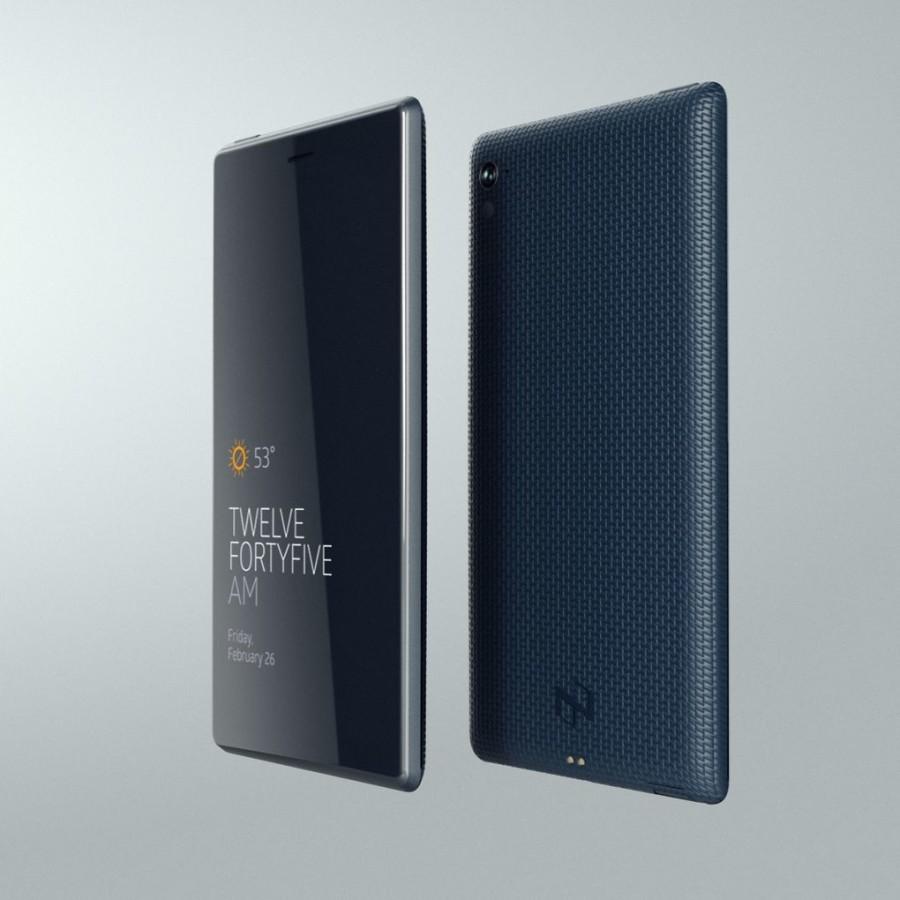 """Смартфон или """"карманный экран"""", как назвали его создатели."""