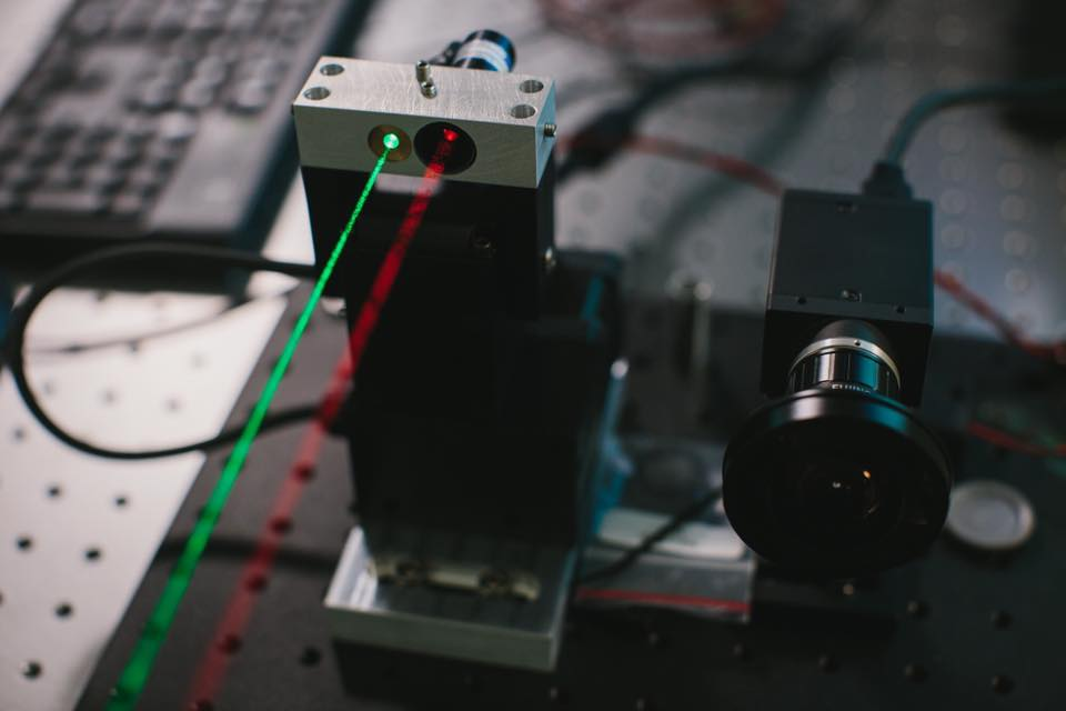 лазер вода фотография передача информации
