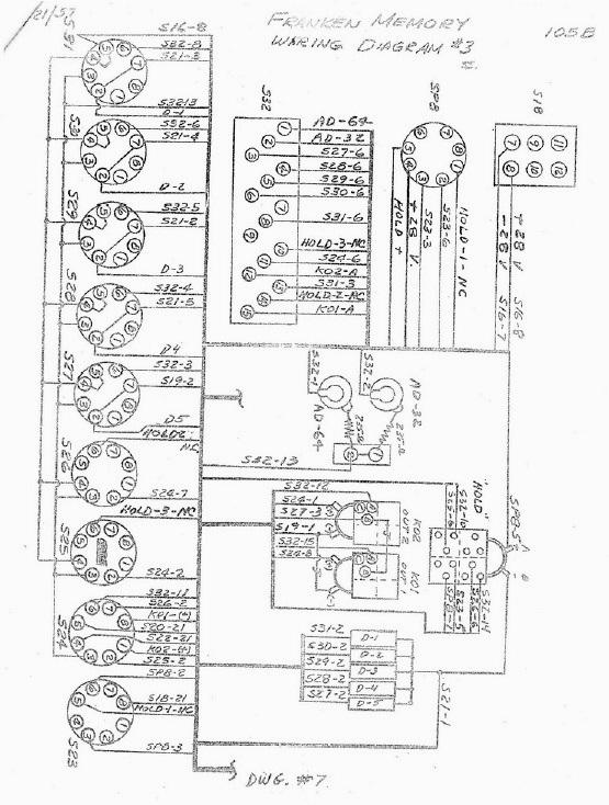 Схема памяти мыши «Франкен»
