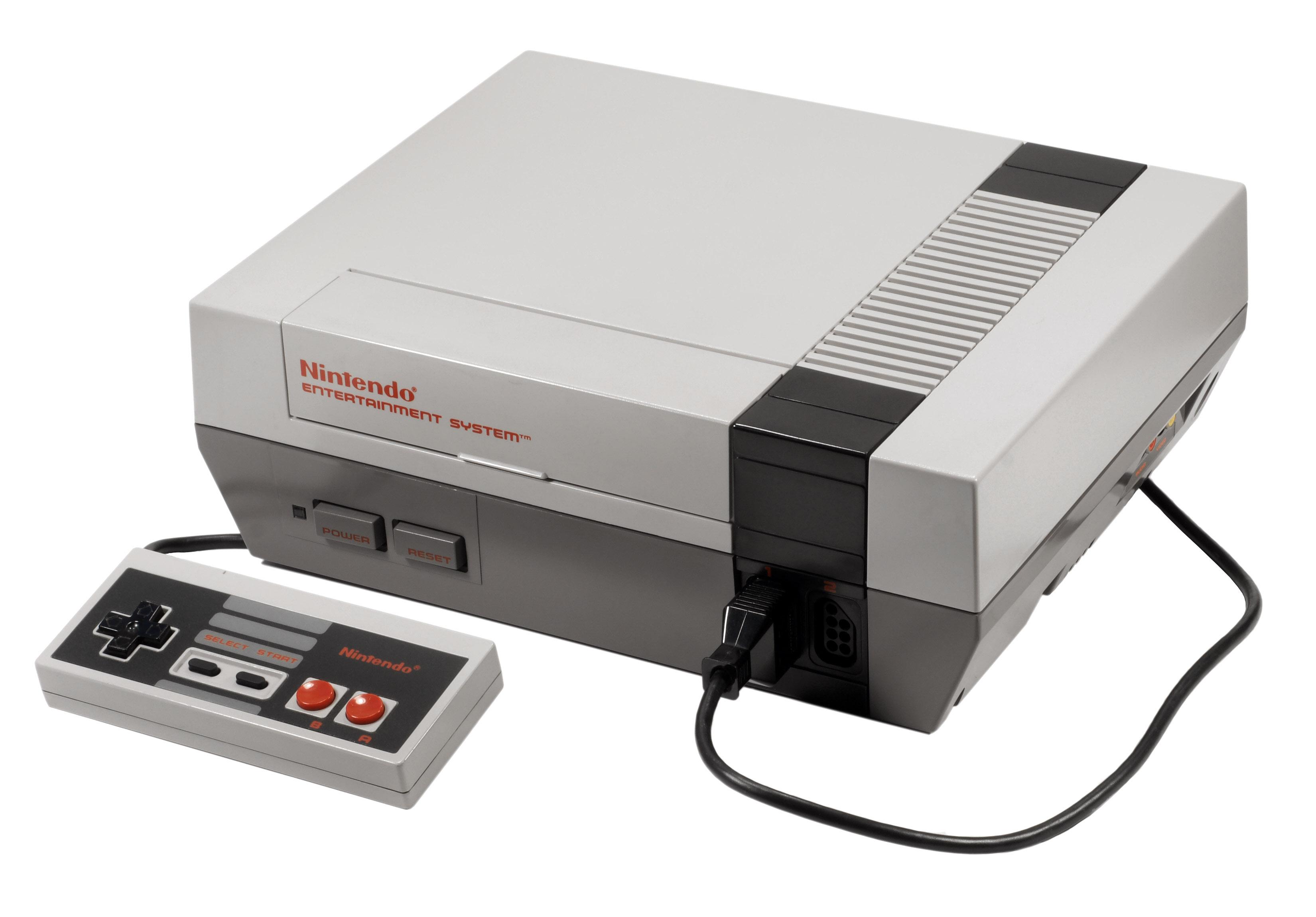Игровая приставка NES